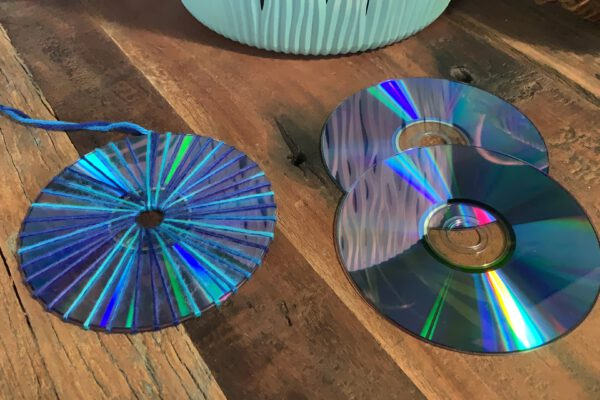 Upcycling mit CDs/DVDs